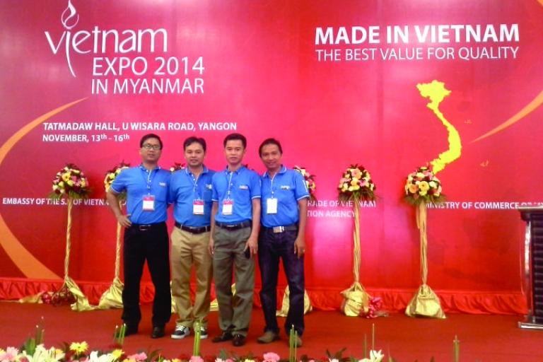 TRIỂN LÃM VIETNAM EXPO 2014 TẠI MYANMAR