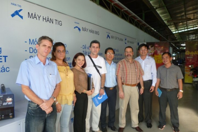 Foreign Partners visit Tan Thanh factory