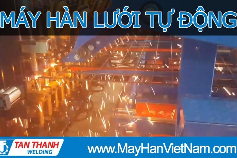 Video Máy Hàn Lưới Tự Động Tân Thành