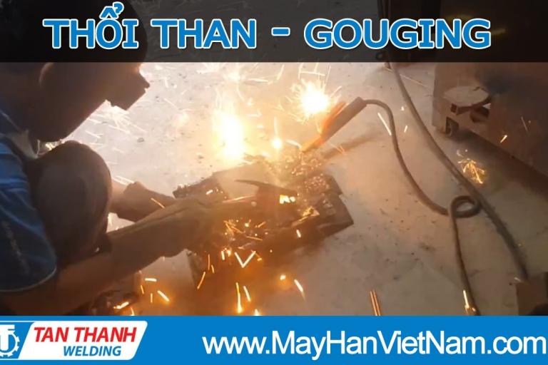 Video Thử Nghiệm Máy Gouging Thổi Than Tân Thành